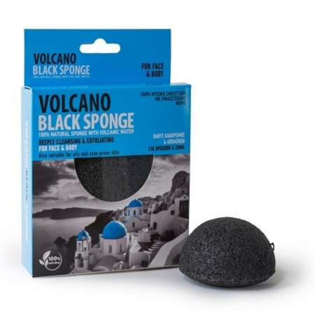VOLCANO Black Sponge Mini 7,5 cm