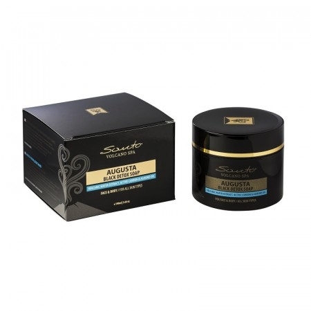 AUGUSTA Black Detox Soap - Face & Body 100 ml
