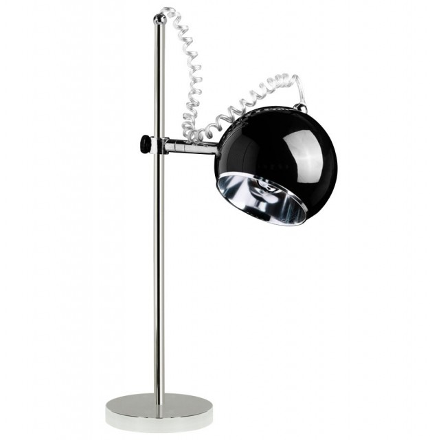 MOON Bordlampe Sort